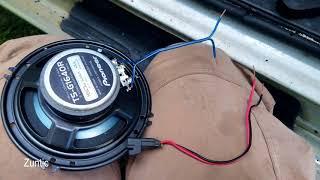 Van Front Door Speaker Install / Replacement 2002 GMC Savana / Chevrolet Express