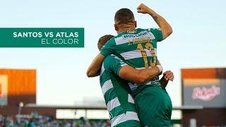 embeded bvideo Santos 3 VS 1 Atlas | COLOR
