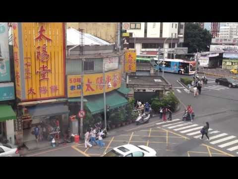 Streets of Taichung City, Taiwan