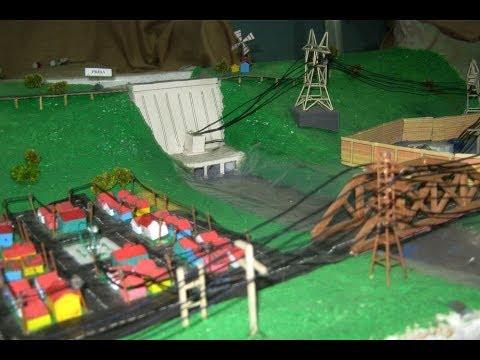 Maqueta Presa Central Hidroel 233 Ctrica Youtube