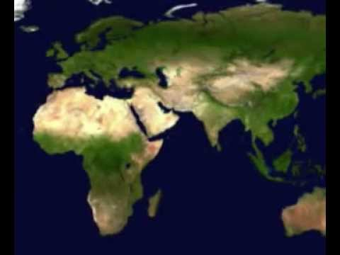 Introduction To Music Of The World Map Satellite Animation - World map 2016 satellite