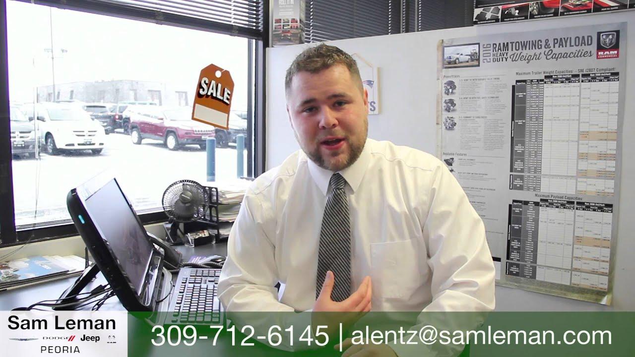Adam Lentz Sam Leman Peoria Youtube