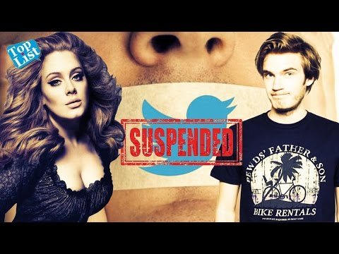 8 Celebrities Who Were Banned From Twitter & Why