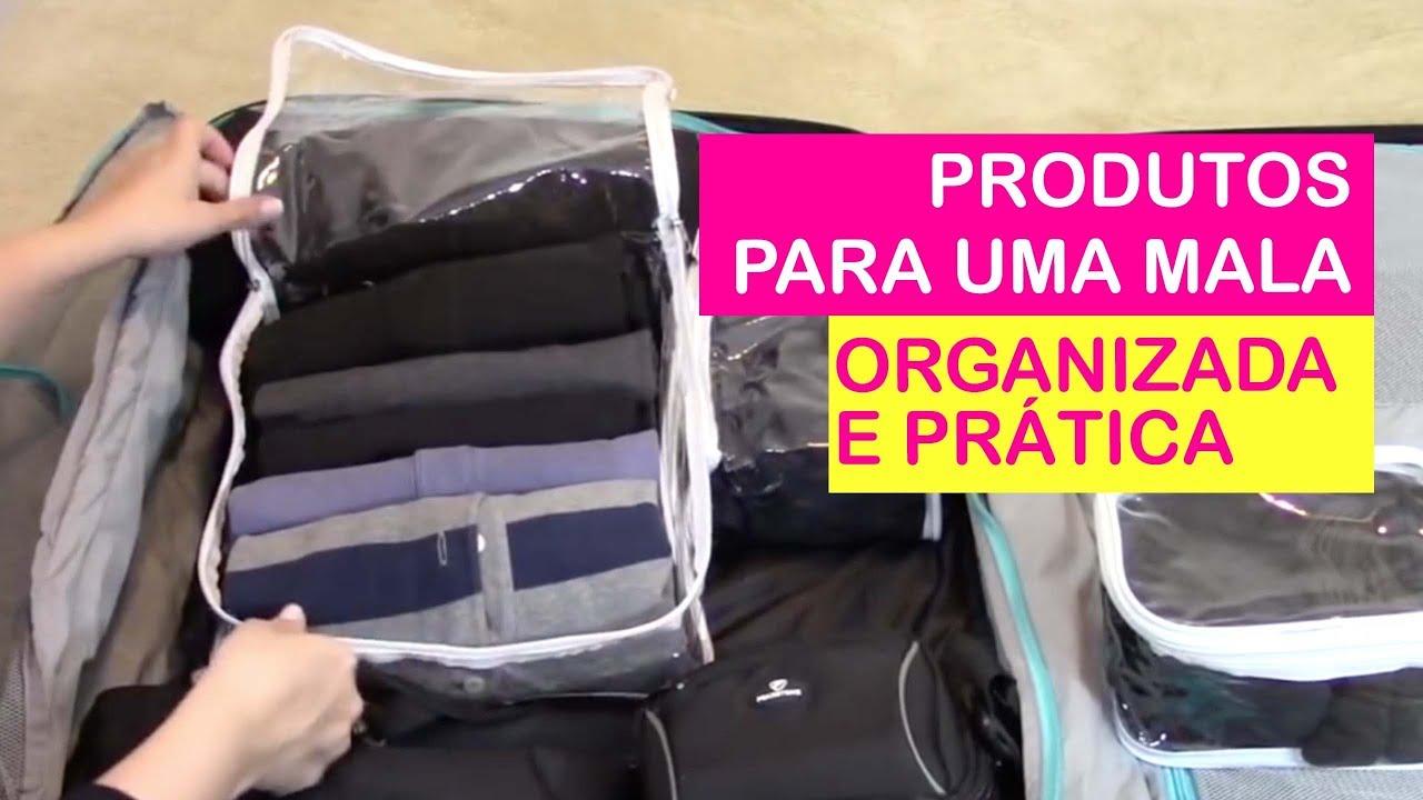 69989caa4 Produtos que uso pra organizar malas → Priscila Sabóia - YouTube