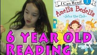 Kid ASMR [Soft spoken/whisper] Study VLOG 9 Amelia Bedelia, 6-year-old Reading exercise