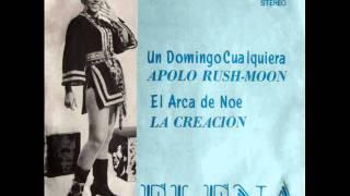 Elena Cortez - Un domingo cualquiera / Apolo Rush Moon (1970)