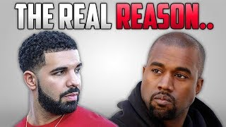 The Real Reason Why Drake & Kanye West Are Beefing