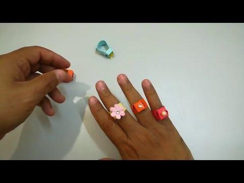 DIY Easy Paper Ring | Origami Rings | Easy paper Ring
