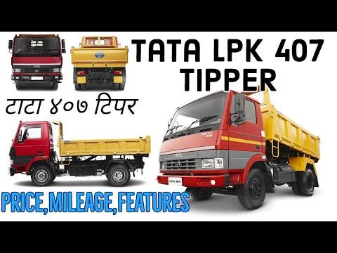 Tata LPK 407 Tipper | Price Specifications Mileage Truck Talks