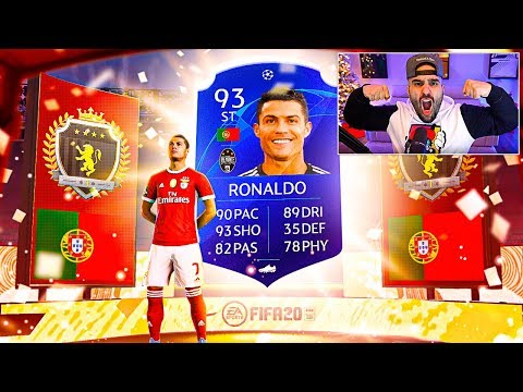 OMFG!!! I PACKED CRISTIANO RONALDO! BEST REWARDS EVER! FIFA 20