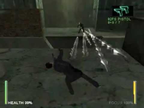 Enter The Matrix Agent Fight!