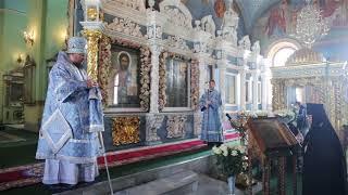Слово митрополита Ферапонта в праздник Похвалы Пресвятой Богородицы
