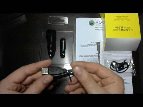Распаковка Bluetooth-гарнитура Jabra Boost Black