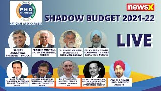 LIVE:  Shadow Budget 2021-22   PHD Chamber Of Commerce \u0026 Industry    Live   NewsX