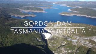 Our World by Drone in 4K - Gordon Dam, Tasmania, Australia