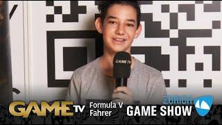 Game TV Schweiz - FORMULA V Fahrer | Zürich Game Show