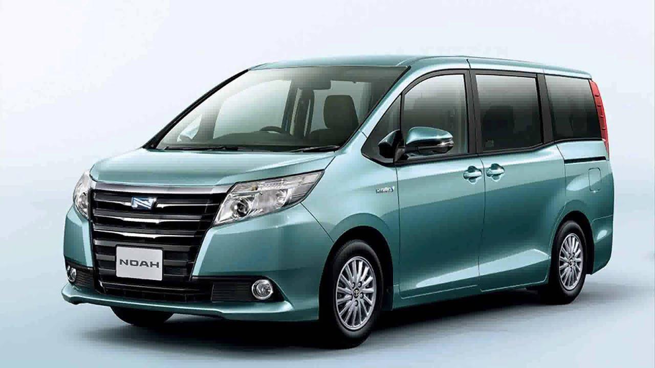 Revealed 2015 Model Toyota Voxy Concept