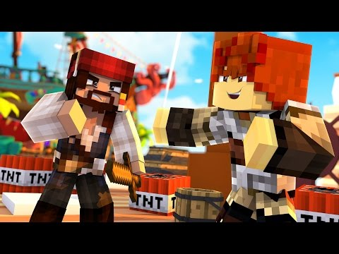 Minecraft Pirates of the Caribbean - Dead Men Tell No Tales (Hide and Seek)