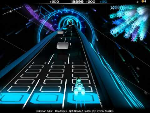 [Audiosurf] Deadmau5 -- Sofi Needs A Ladder (no vocal)