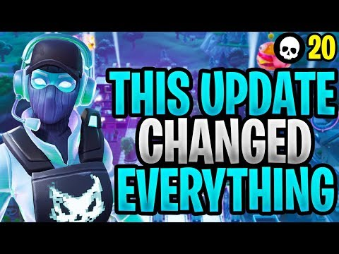 This New Fortnite Update Just Changed EVERYTHING Fortnite Content Update 930 1