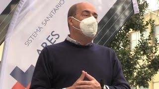 Coronavirus, Zingaretti: «Nel Lazio somministrati più di 1 milione di vaccini influenza»