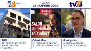 7/8 Le journal. Edition du jeudi 23 janvier 2020