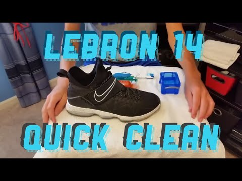 How to Clean Lebron 14s