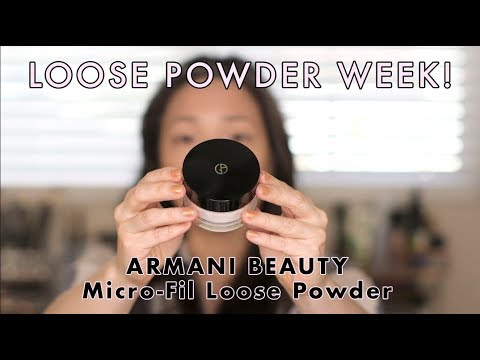 armani loose powder