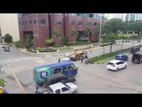 Ayala Business Park Cebu Accident