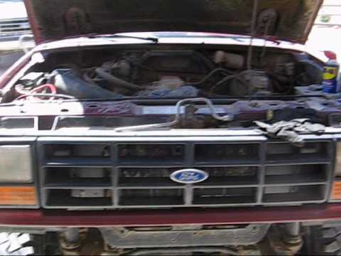 96 ford aerostar heater core replacement