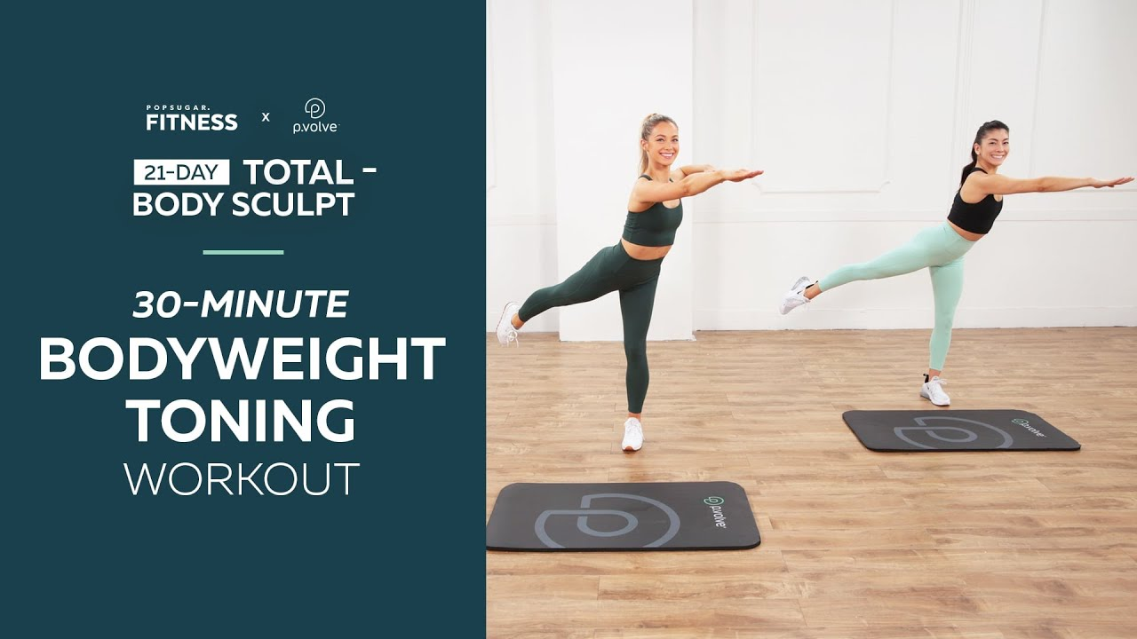 Day 2 and 20: 30-Minute Bodyweight Toning Workout