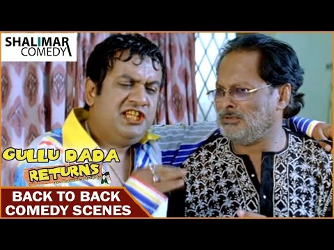 Gullu Dada Returns Hyderabadi Movie || Sajid Khan Comedy Scenes || Back To Back