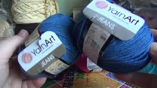 Маленький обзор на пряжу YarnArt Jeans и Alize baby Softy