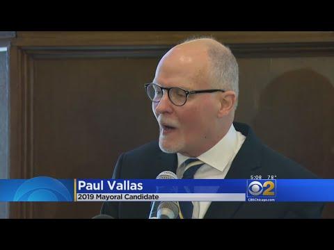 Former Chicago Schools CEO Paul Vallas Announces Mayoral Campaign