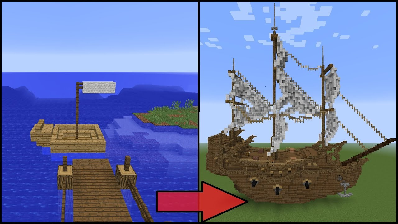 Boat Build Minecraft