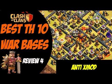 Clash of Clans: Best TH 10 War Base Design -