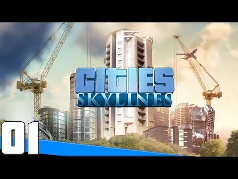 Cities Skylines Gameplay Ep.1 - A Quaint Little Town || Cities Skylines Lets Play