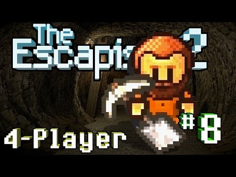 The Escapists 2: 4-Player - #8 - Tunnel Rats (4-Player Gameplay)
