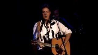 Paul McCartney - We Can Work It Out (Paul is Live)