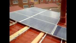 Монтаж солнечной электростанции 2011г.(vitasvet.ru)(, 2011-09-16T14:49:54.000Z)