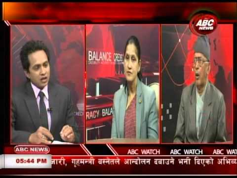 ABC Watch with Ranju Kumari Jha & Maha Prasad Parajuli by Sushil Pandey, ABC NEWS, NEPAL