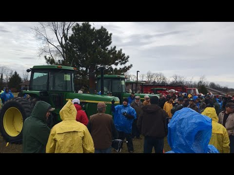 K&C Farms Auction Today In Wilmington, OH