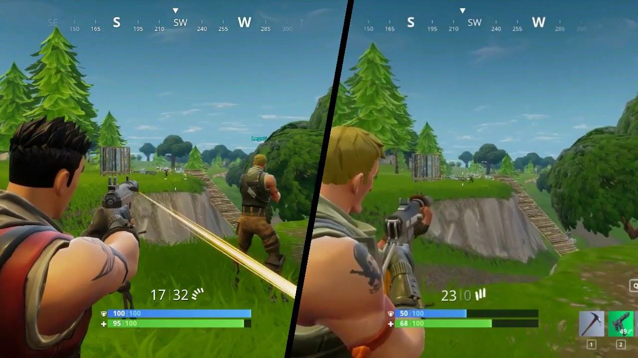 fortnite battle royale split screen duo win - fortnite local multiplayer xbox one