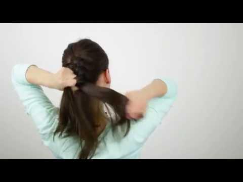 Haare flechten | Basic: französischer Zopf bei sich selbst | Flechtfrisur – Tutorial