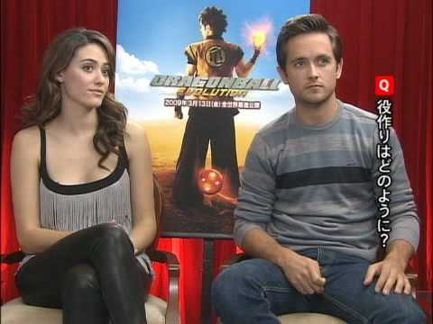 Dragonball Evolution Justin Chatwin and Emmy Rossum Interview