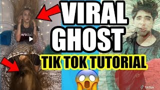 GHOST SPIRIT VIRAL TIK TOK TUTORIAL IN ANDROID ! How To Make Ghost Effect In Musically Aatma