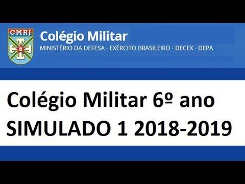 Apostila Colegio Militar Gratis Pdf