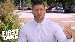 Notre Dame has to be undefeated to make College Football Playoff - Tim Tebow | First Take