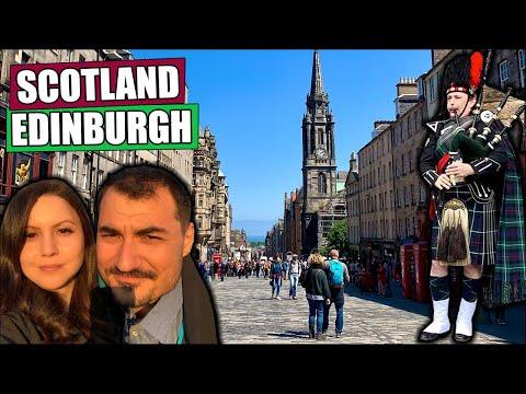 Scotland Adventures: Getting Sunburnt In Edinburgh