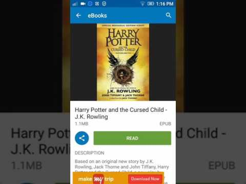 Harry potter and the cursed child eBook...
